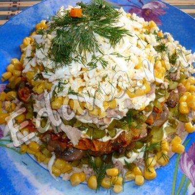 Суп из белых сушеных грибов с вермишелью и овощами