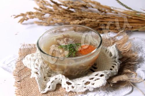 рецепт холодца из свиной ножки