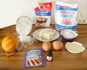 Ингредиенты для выпечки капкейков