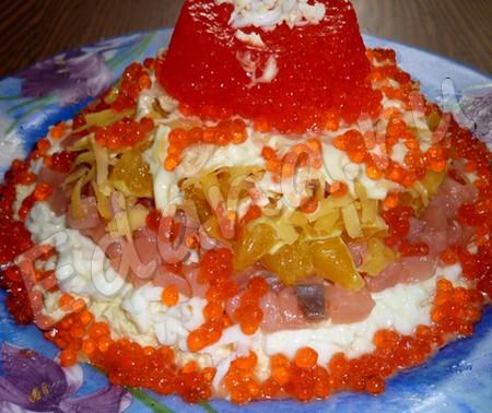морской салат жемчужина
