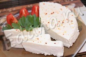 Адыгейский сыр в домашних условиях готов через 30 минут