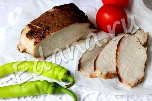 Домашняя буженина из свинины в фольге с бальзамиком