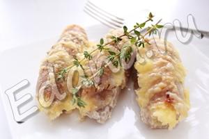 Мясные рулетики из свинины с начинкой готовы, подавайте горячими