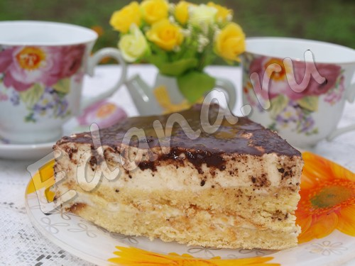«Птичье молоко» – рецепт любимого торта