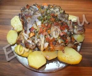 рецепт запеченных свиных ребер