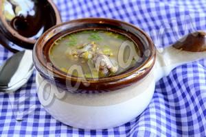 гречневый суп: рецепт