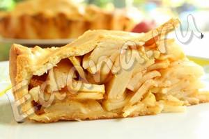 Яблочный пирог с корицей рецепт