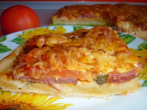 томатная пицца рецепт #10