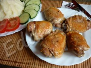Жареные куриные бедрышки