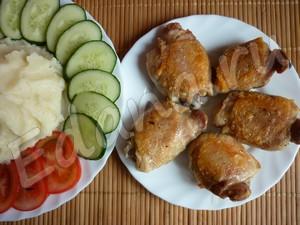 Куриные бедрышки рецепт