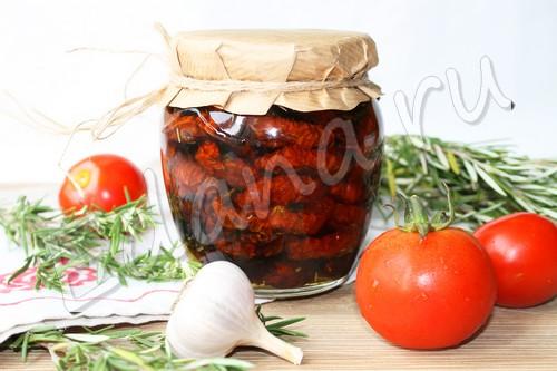 Вяленые помидоры с пряностями в домашних условиях