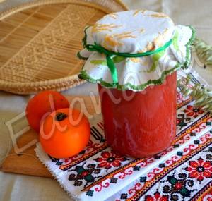 Как сварить томатный сок с солью?
