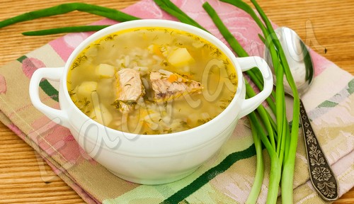 Суп из рыбной консервы в мультиварке: «заменитель» ухи