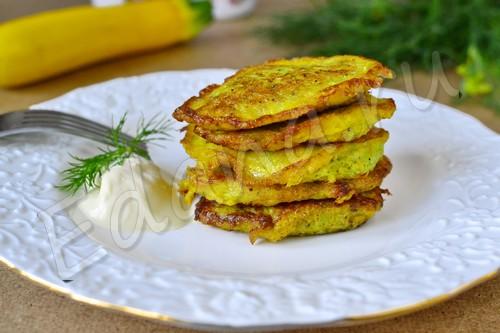 кабачковые оладьи рецепт с фото без яиц