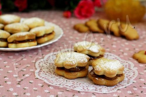 Печенье без яиц на сметане и меде
