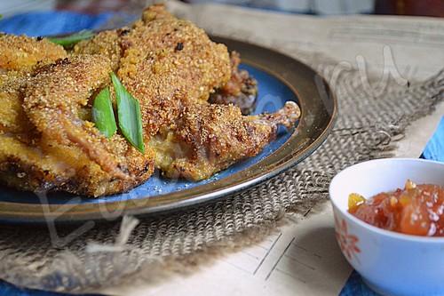 Отбивной цыплёнок по-венски