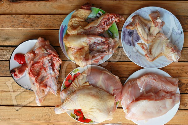 Фото-урок: учимся разделывать курицу?