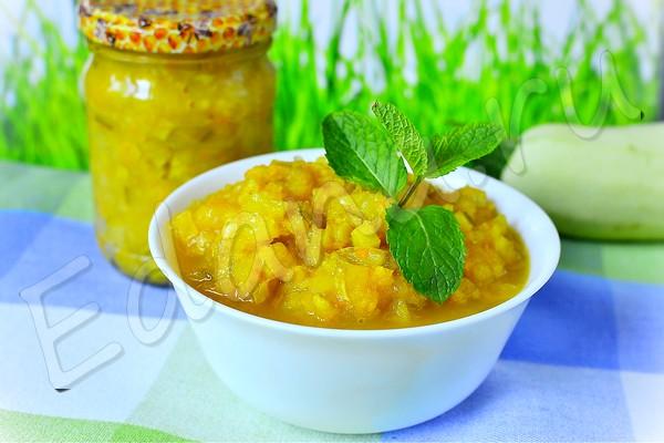 Варенье из кабачков с лимонно-апельсиновой добавкой