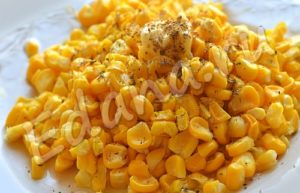 Вареные кукурузные зерна