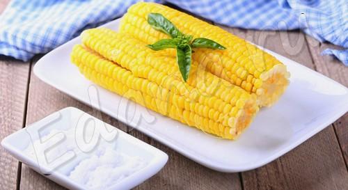 Кукурузные кочаны