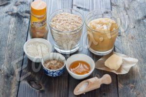 Ингредиенты для приготовления домашней гранолы