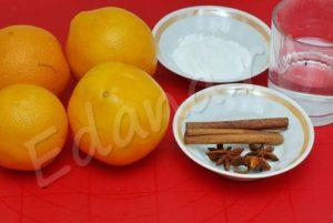 Ингредиенты для пропитки коржей