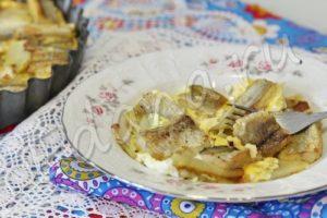 Минтая с картошкой из духовки вынуть через 25 минут