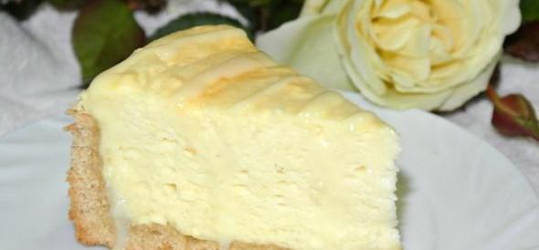 Творожный пирог «Воздушный»