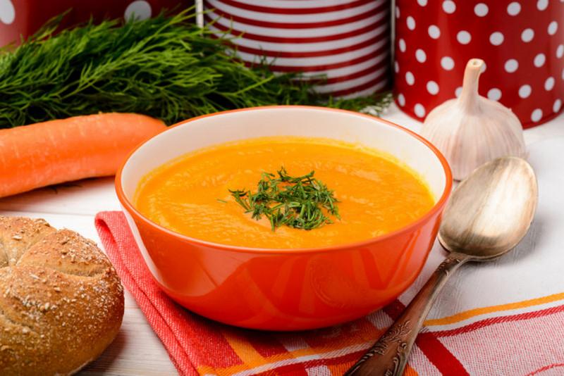 Пюре из телятины с морковью