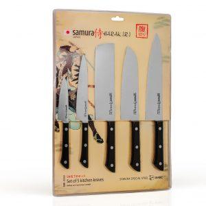 5 ножей Samura HARAKIRI SHR-0250B/K