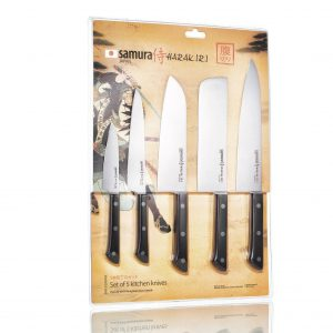 5 ножей Samura HARAKIRI SHR-0250WO/K