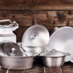 Алюминиевая посуда: особенности, минусы и плюсы