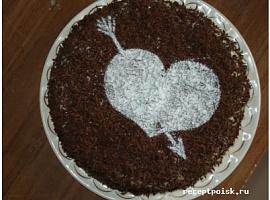 Бисквитный торт Шоколадный рай