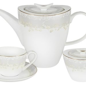 Чайный набор 14 предметов Anna Lafarg Emily Венок 56450