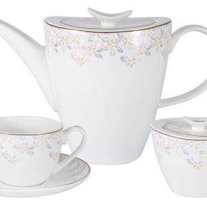 Чайный набор 14 предметов Перламутр Anna Lafarg Emily 57291