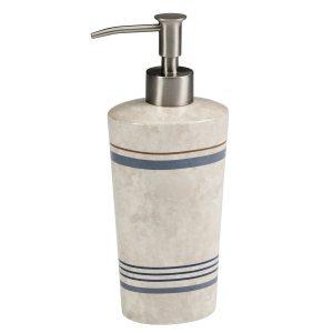 Дозатор для жидкого мыла Creative Bath Ticking Stripe TIC59BLU