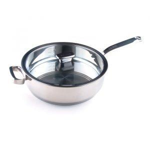 Глубокая сковорода с дополнительной ручкой 4