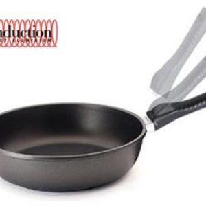 Литая глубокая сковорода Risoli Click Induction 24см 0104INS/24TP