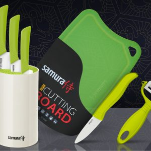 Набор из 3-х ножей керамических ножей Samura