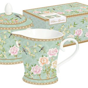 Набор: сахарница + молочник Дворцовый парк (салатовый) в подарочной упак. Easy Life AL-54654