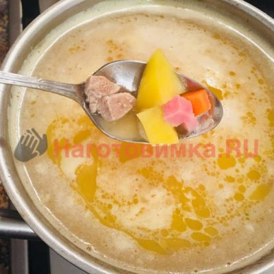 Суп гороховый по домашнему рецепту