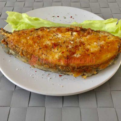 Как приготовить стейк рыбы Зубатка на сковороде