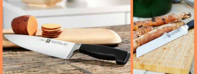 Лучшие кухонные ножи – материал, форма, изготовители