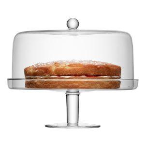 Подставка для торта с крышкой Klara D33 см LSA International G914-33-301