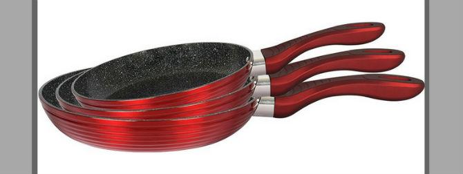 мраморное покрытие сковороды