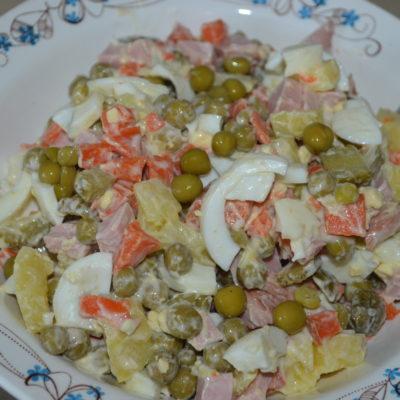 Салат оливье классический