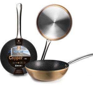 Сковорода глубокая 28см IBILI Natura Copper арт. 495328