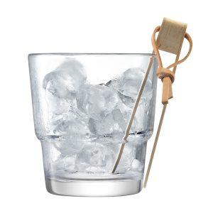 Ведёрко и щипцы для льда Mixologist 14 см LSA G1454-14-187