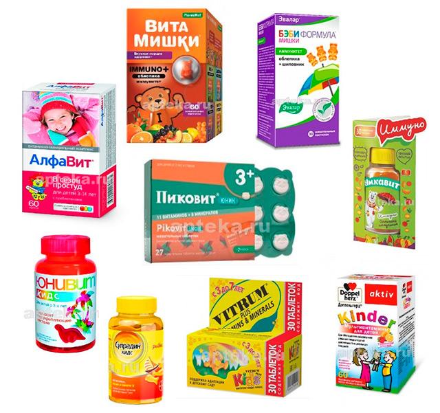 Лучшие витамины для детей - рейтинг 2020